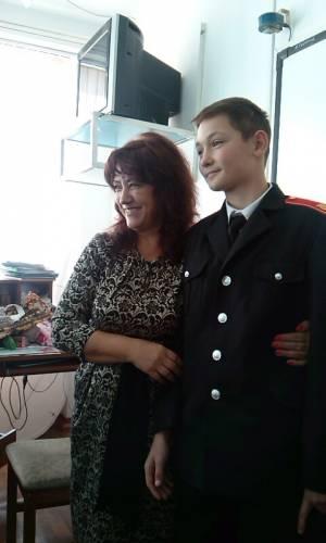 Кадет Петренко Данила в гостях у одноклассников